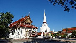 Buddhist temple in Nakhon Si Thammarat, Thailand