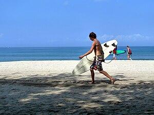Kuta - Kuta beach.