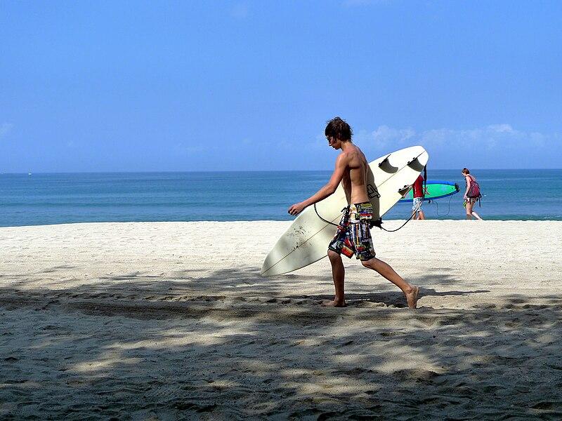 File:峇里島庫塔海滩.JPG
