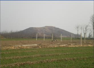 Princess Pingyang (Han dynasty) - The tomb of Princess Pingyang in Xianyang, Shaanxi
