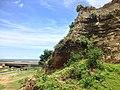 林口大峽谷被挖出的地層.jpg