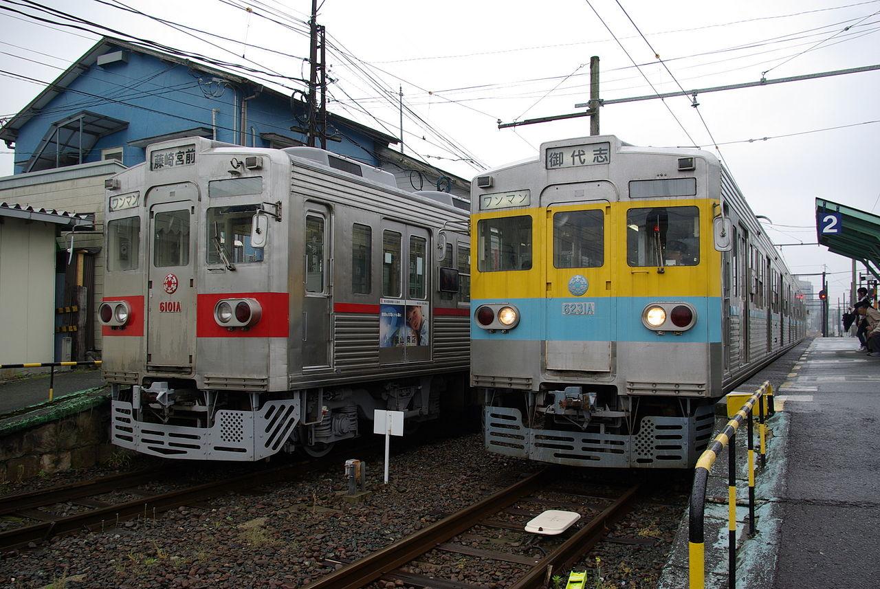 熊本電気鉄道6000系.JPG