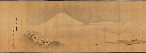 "狩野探幽筆 『画苑』-Famous Themes for Painting Study Known as ""The Garden of Painting"" (Gaen) MET DP238094.jpg"