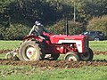-2018-10-20 McCormick D-434 tractor, Trimingham Trosh 2018.JPG
