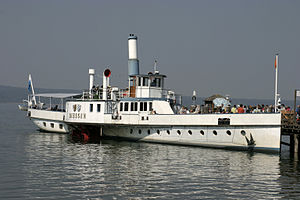Ammersee - Image: Ammersee Paddleboat Diessen 03