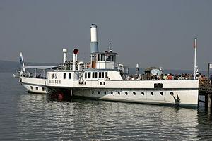 Bayerische Seenschifffahrt - Paddle Ship Diessen on the Ammersee