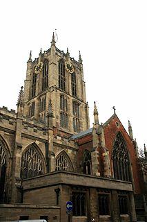 Hull Minster Church in United Kingdom