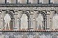 02020 0716 Sgraffito on the eastern inner facade of the Castle Krasiczyn, Monarchs of Poland.jpg
