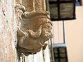 021 Sant Jeroni de la Murtra, portal d'entrada, cap de Carles I.JPG