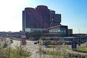Stony Brook University Hospital - Stony Brook University Hospital in the spring of 2013