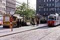 080L11150581 Haltestelle Franz Josefs Bahnhof, Julis Tandler Platz, Strassenbahn Linie D, Typ E1 4705.jpg