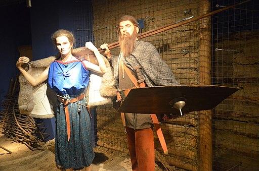 0899 Tracht der Wandalische Krieger in Südpolen im 2. Jh. n. Chr