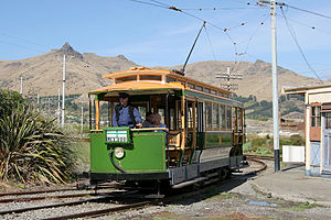 John Stephenson Company - A 1905 John Stephenson-built streetcar at the Ferrymead Heritage Park in New Zealand