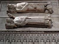 104 Monestir de Poblet, panteó reial, Ferran I i Elionor d'Alburquerque.jpg