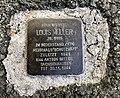 11.8.2018 Stolperstein von Louis Müller in Falkenstein Vogtl. Louis-Müller-Straße 28.JPG