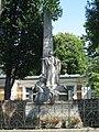 1160 Flötzersteig 4 - Denkmal mit Allegorie Austria zur Errichtung des Kaiser Franz Josefs -Kinderspitals IMG 3123.jpg