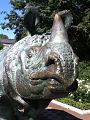 14 06 17 Rhino Statue at Bronx Zoo NY version 1.jpg