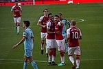 16 Merci Arsène - Celebrating Kolasinac's goal (41056177225).jpg