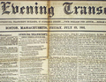 1852 EveningTranscript Boston USA July23 detail.png