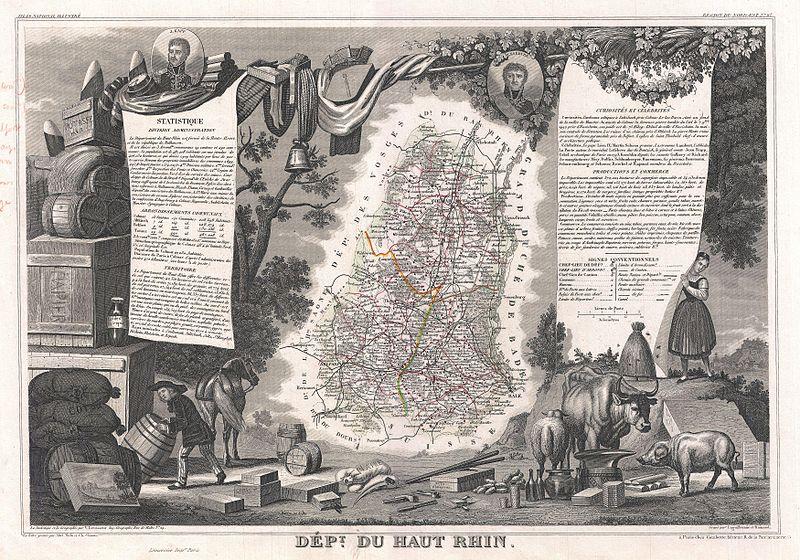 File:1852 Levasseur Map of the Department Du Haut Rhin, France (Alsace Wine Region) - Geographicus - HauteRhin-levasseur-1852.jpg