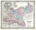 1856 Colton Map of Prussia and Saxony, Germany - Geographicus - Prussia-colton-1856.jpg