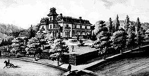 William S. Ladd - Ladd's house c. 1881