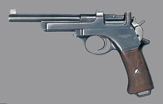 Mannlicher M1901 Semi-Automatic Pistol