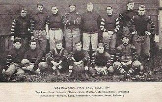Canton Bulldogs - The 1906 Canton Bulldogs team.
