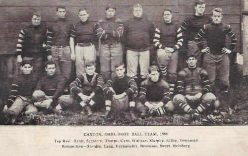 1906 canton bulldogs team