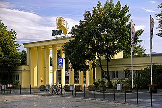 Wrocław Zoo - The main entrance