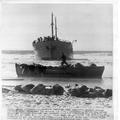 1947 - חוף ניצנים - האוניה סוזנה עוגנת לאחר שפרצה את ההסגר הימי הבריטי עם פליטים יה-PHL-1088413.png