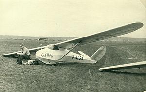 Schleicher Ka 3 - Prototype Ka 3 in 1954