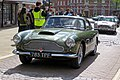 1961 Aston Martin DB4 3670 cc at Horsham English Festival 2018.jpg