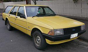 Ford Falcon (XD) - Ford Falcon GL station wagon