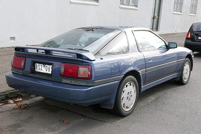 1986 Toyota Supra (MA70) liftback (2015-07-14) 02