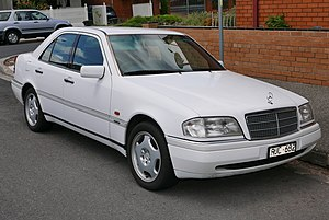 Mercedes benz c class wikivisually mercedes benz c class w202 mercedes benz c 220 elegance fandeluxe Choice Image