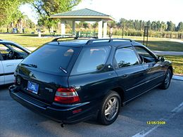 1996-1997 Accord SiR Wagon Rear (Imported Japanese Model) 2.JPG
