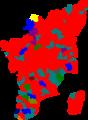 1996 tamil nadu legislative election map by parties.png
