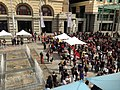 19 03 15 Forrest Place water and crowd.JPG