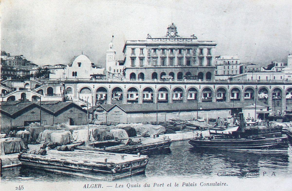 Palais consulaire d 39 alger wikip dia for Chambre algerienne de commerce