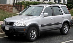 Honda CR-V photographed in Rockville, Maryland...