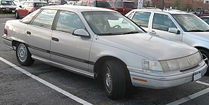 Mercury Sable - 1989-1991 Mercury Sable