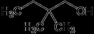 2,2-Dimethyl-1-butanol - Image: 2,2 dimethyl 1 butanol