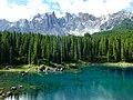 2,842m Latemar 1,520m Lago di Carezza Italy - panoramio (1).jpg