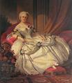 2.ª Condessa de Farrobo vestida à Luís XV para um baile de máscaras (c. 1860) - José Rodrigues.png