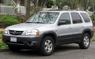 Mazda Tribute - Image: 2001 2004 Mazda Tribute 03 21 2012
