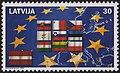 20040501 30sant Latvia Postage Stamp B.jpg