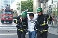 2005년 5월 12일 서울특별시 강남구 코엑스 재난대비 긴급구조 종합훈련 DSC 0063.JPG
