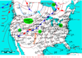 2005-04-19 Surface Weather Map NOAA.png