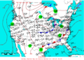 2005-05-28 Surface Weather Map NOAA.png